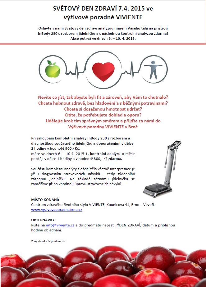 Světový den zdraví - akce