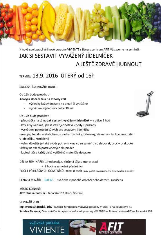 LETÁČEK - seminář AFIT + VIV new